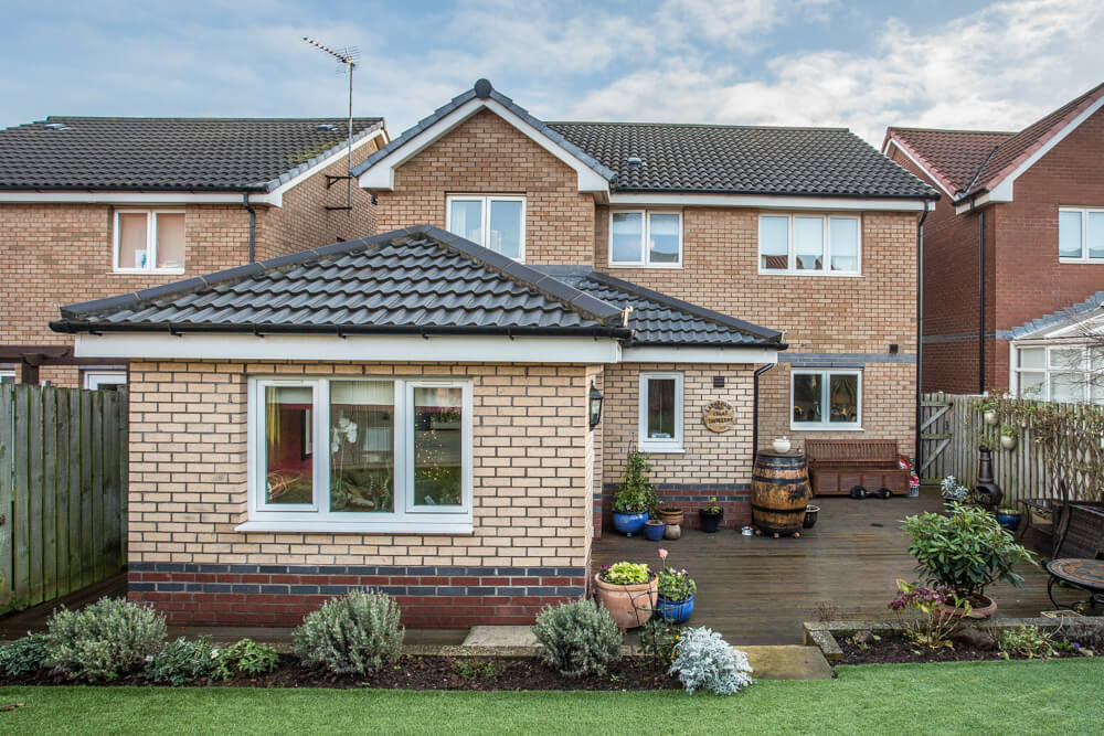 Extension at Steadings Crescent, Dunbar 21