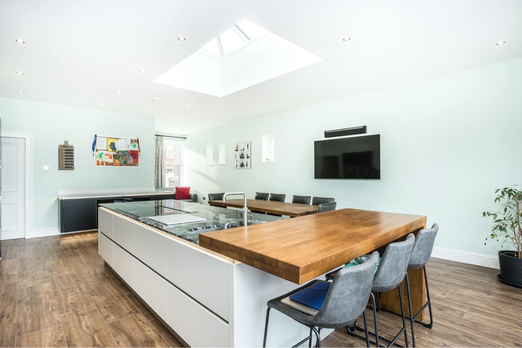 Kitchen Conversion at Bayswell Park Dunbar 5