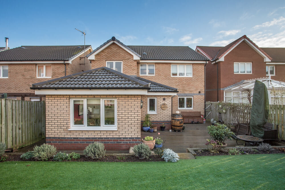 Extension at Steadings Crescent, Dunbar 9