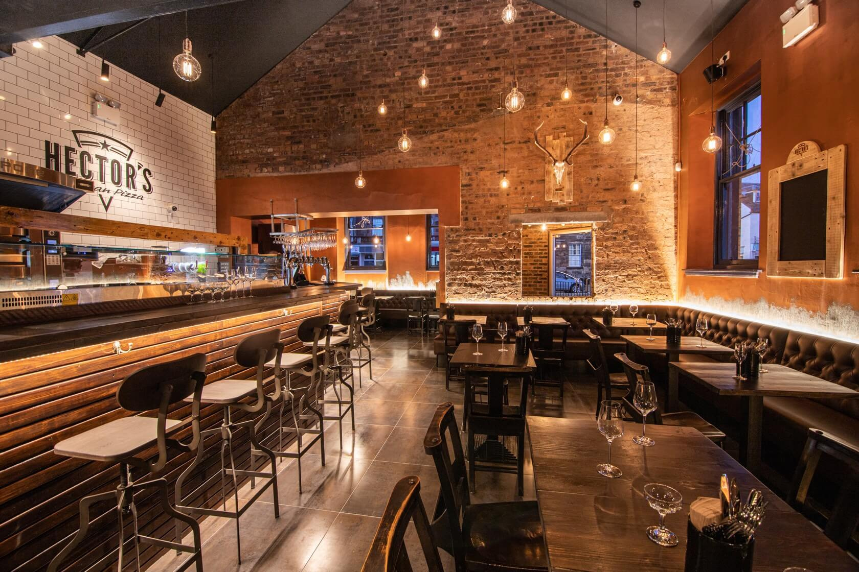 Hector's Artisan Pizza 13, Dunbar - C&G Development