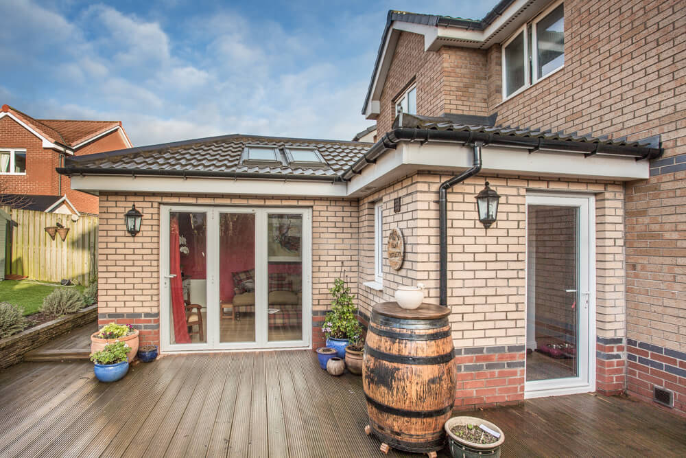 Extension at Steadings Crescent, Dunbar 20