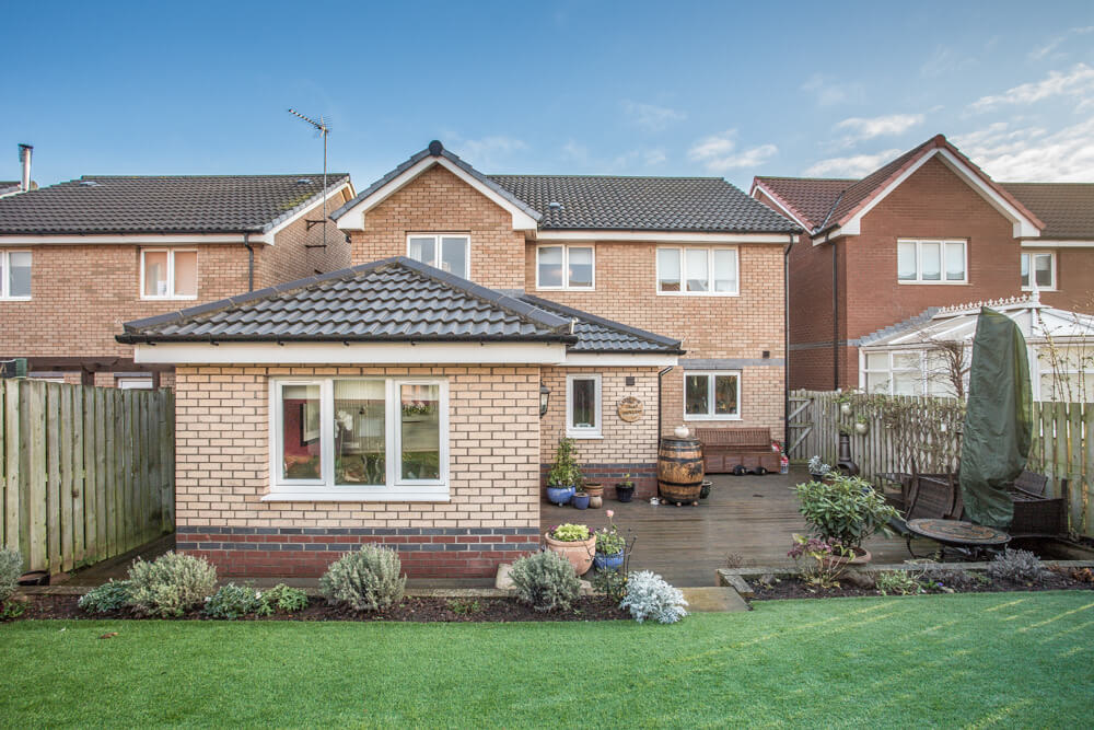 Extension at Steadings Crescent, Dunbar 16