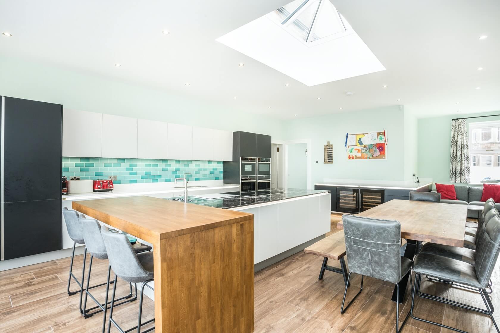 Kitchen Conversion at Bayswell Park Dunbar 4