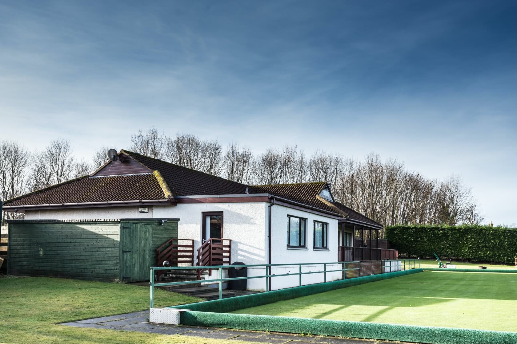 Extension at West Barns Bowling Club 1
